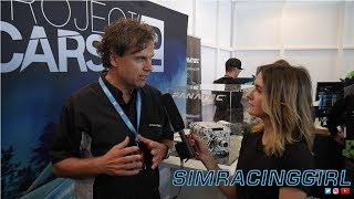 Download Fanatec DIRECT DRIVE Podium Series interview with Thomas Jackermeier by SimRacingGirl Video