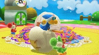Download Yoshi's Woolly World 100% Walkthrough Part 1 - World 1 Video