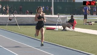 Download 2016 Track - California Relays 800M Girls Invitational Race Video