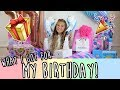 Download WHAT I GOT FOR MY BIRTHDAY (huge surprise party!) Video