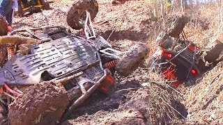 Download Technical SxS Trail Riding at its Finest - Polaris RZR vs Can Am Maverick - Pushing the Limits Video
