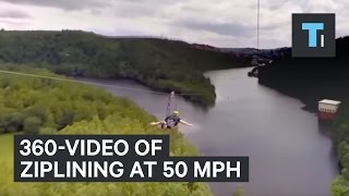 Download What It's Like To Zip Line At 50 mph Video