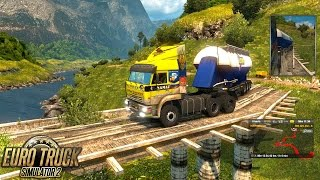 Download rutas mortales ets2 1.25 Carreteras Extremas y velocidad! Euro Truck Simulator 2 Video