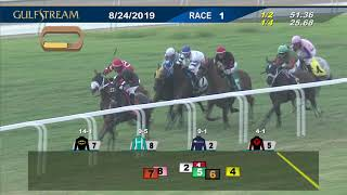 Download Gulfstream Park August 24, 2019 Race 1 Video