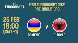 Download Armenia v Albania - FIBA EuroBasket 2021 Pre-Qualifiers Video