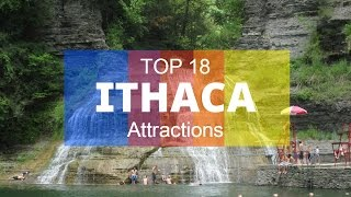 Download Top 18. Best Tourist Attractions in Ithaca - New York Video
