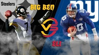 Download Steelers vs. Giants (2004 Highlights) | Big Ben vs. Eli Manning: Battle of the Rookies | NFL Video