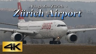 Download 【4K】Special 1Hour Zürich Airport #2 @SWISS 2017 the Amazing Airport Spotting Video
