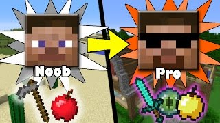 Download MORE Secret&Quick Ways to Transform from Noob to Pro in Minecraft Video