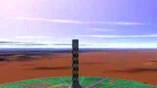 Download Solar Tower - Large Scale Renewable Energy Animation Video