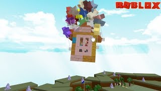 Download Our Boat Flew!!! Building the Up House in Build a Boat to Treasure / Roblox Video