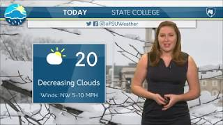 Download Wednesday Morning Forecast 1/17/18 Video
