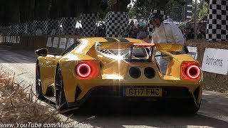 Download 2017 Goodwood Festival of Speed Supercar MADNESS! - Centenario, Chiron, Ford GT, Zonda 760 & More! Video