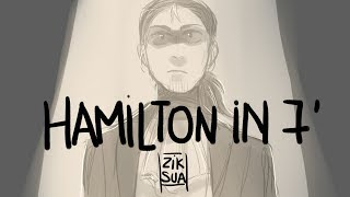 Download Hamilton in 7 minutes - Animatic Video