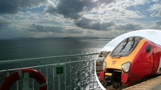 Download London to Dublin the civilised way, by train & ferry for £49 Video