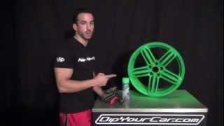 Download Blaze Green Over Black Plasti Dip - New Spray Trigger Video