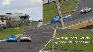 Download Rover SD1 beats Porsche at a racing track Video