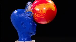 Download Bowling in Slow Motion with Blue Man Group - The Slow Mo Guys Video
