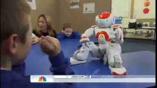 Download Robots teach communication to kids with autism Video