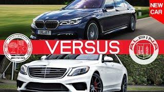 Download 2017 Alpina B7 VS Mercedes S63 AMG Sedan Video