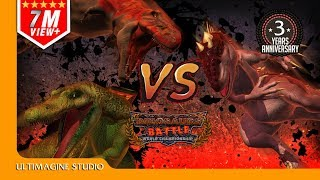 Download Spino VS T Rex VS I Rex : Dinosaurs Battle Special Video