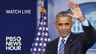 Download WATCH LIVE: President Obama's Final Press Conference Video