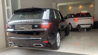 Download SUV Luxury Range Rover Sport HSE Dynamic V6 2019, Black & White Metalic Video