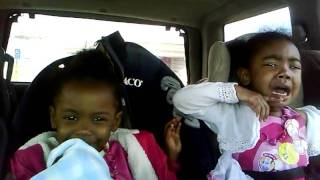 Download Kids laughing at there sister after a woopin Video
