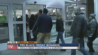 Download Black Friday begins at many stores around Las Vegas valley Video