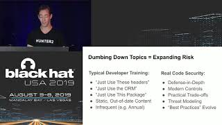 Download Shifting Knowledge Left: Keeping up with Modern Application Security Video