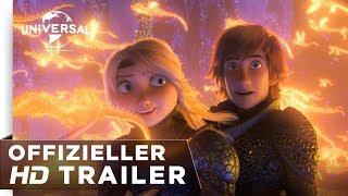Download Drachenzähmen leicht gemacht 3: Die geheime Welt - Trailer deutsch/german HD Video