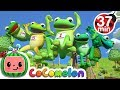 Download Five Little Speckled Frogs | +More Nursery Rhymes & Kids Songs - CoCoMelon Video