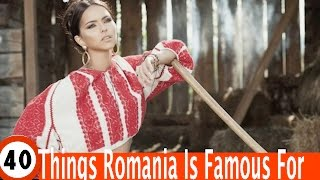 Download Top 40 Amazing Things Romania Is Known For, or it should be known for Video