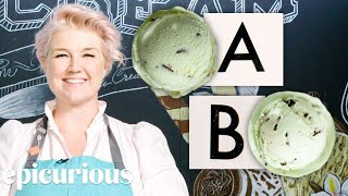 Download Ice Cream Expert Guesses Cheap vs Expensive Ice Creams | Price Points | Epicurious Video