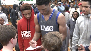 Download Trevon Duval Goes CRAZY In Front of Sold Out Crowd in JERSEY! IMG vs TPS Highlights #TrickyTre Video