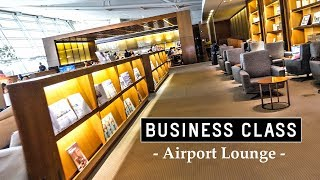 Download Inside BUSINESS CLASS Lounge at ICN Airport ft. AYCE Buffet Video