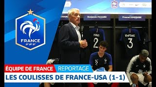 Download Equipe de France : Les coulisses de France - Etats-Unis I FFF 2018 Video