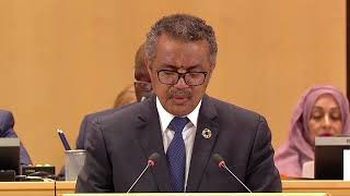 Download WHO Director-General Dr Tedros closing speech to the 71st World Health Assembly Video