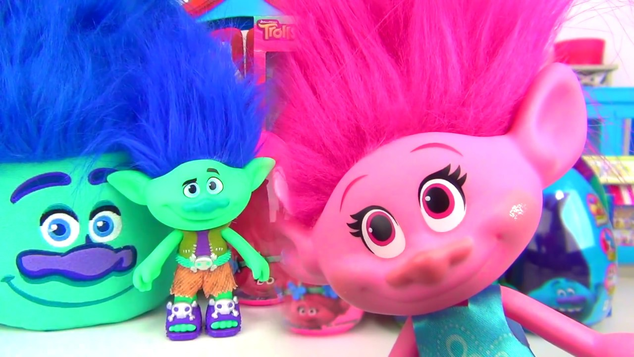 trolls easter eggs chocolates candies poppy branch