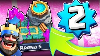 Download CLASH ROYALE / LVL 2 IN SPELL VALLEY / I CAN'T BELIEVE I MADE IT Video