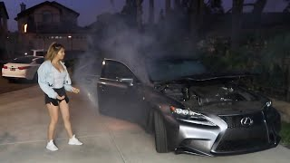 Download I SET MY EX-GIRLFRIEND'S CAR ON FIRE! Video