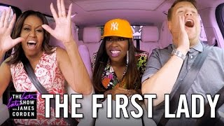 Download First Lady Michelle Obama Carpool Karaoke Video