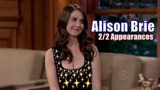 Download Alison Brie - Craig Notices Whenever Brie Leans Forward - 2/2 Appearances In Chron. Order [1080] Video