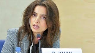 Download Deeyah Khan and Hina Jilani at United Nations Human Rights Council Video