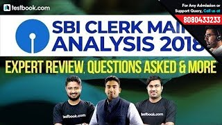Download Most Accurate Expert Analysis SBI Clerk Mains 2018 | Questions Asked | Strategy & Approach Video