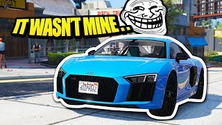 Download Convincing Cop To Give Me Another Players Supercar.. (GTA RP) Video