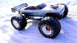 Download RC ADVENTURES - WiNTER BASHFEST - Dodge Charger E-Revo & Friends at BLACKFOOT RC! Video