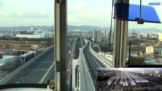 Download 大阪モノレール HD前面展望 門真市~大阪空港 2011 Video