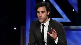 Download SACHA BARON COHEN Kills Presenter & Accepts Award (Extended) - 2013 Britannia Awards on BBC AMERICA Video