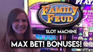 Download Sarah Plays Family Feud and Clears The Board! MAX BET! BONUS! Video